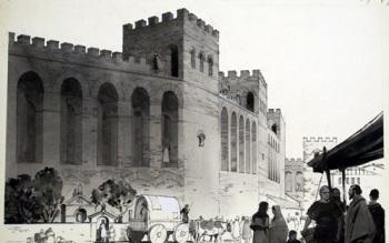 Muralla de Aureliano (dib. Angus McBride)