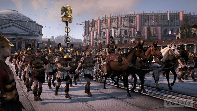 Un triunfo romano..