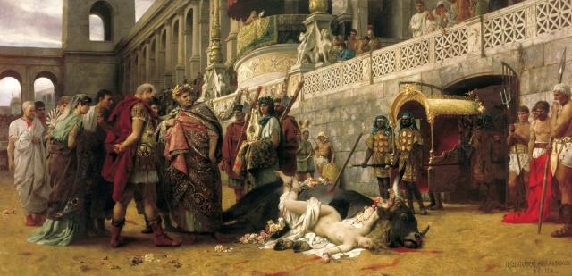Persecución a los cristianos. (Henryk Siemiradzki)