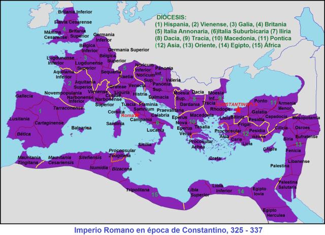 Roma, 325 - 337