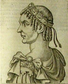 Flavius Magnus Magnentius. (Dib. de G.B. Cavalieri)
