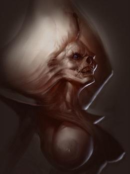 Alienígena imaginario.