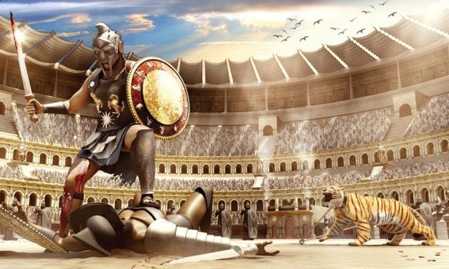 Resultado de imagen de coliseo gladiadores