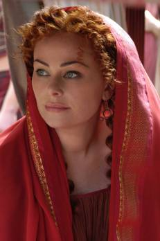 "Atia Balba Cesonia. Actriz Polly Walker (serie tv. ""Rome"")"