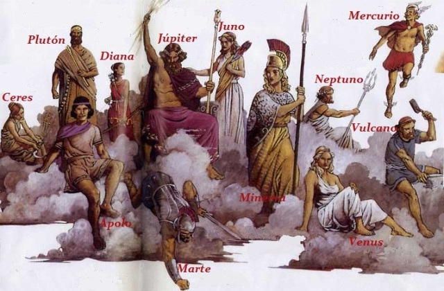 Dioses romanos..