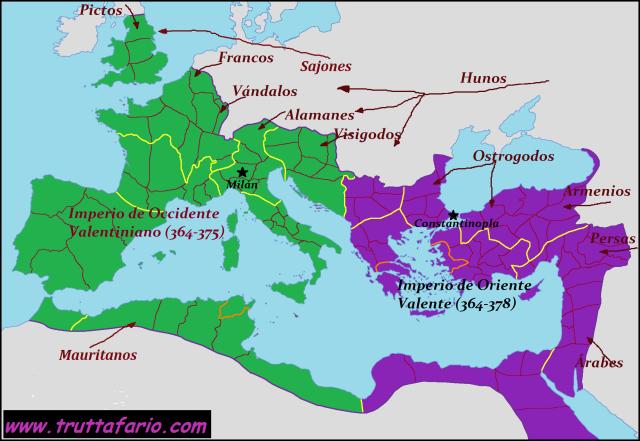 Roma, 364-378