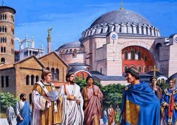 Constantinopla (Dib. de Roger Payne)