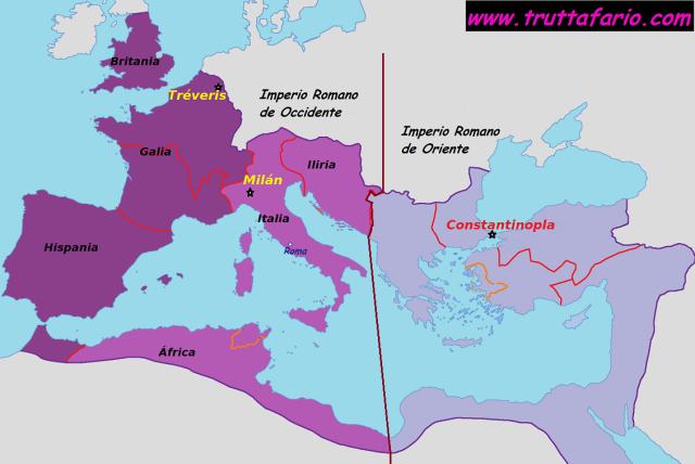 Roma, 375-378