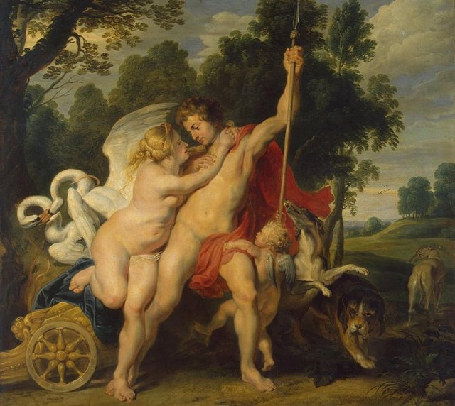 Adonis y Afrodita (Pieter Paul Rubens)